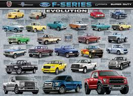 100 Number One Truck In America Ford FSeries Evolution Jigsaw Puzzle PuzzleWarehousecom