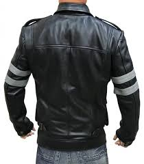 Dead Kennedys Halloween Tab by Re6 Black Leather Moto Jacket 100 Real Leather At Amazon Men U0027s