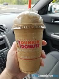 Pumpkin Spice Latte Dunkin Donuts Ingredients by Review Dunkin U0027 Donuts Frozen Coffee The Impulsive Buy