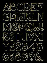 Lovely And Simple Alphabet