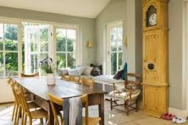 Casement Windows Complete A Sunny Rustic Dining Room