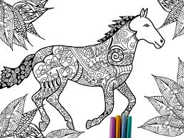 Inspirational Horse Coloring Pages For Adults 56 Download With