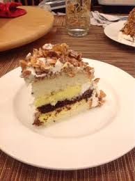 Burnt almond cake delicious Picture of Butter flour sugar