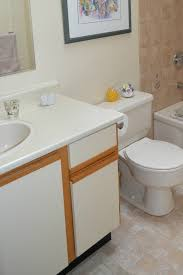 Ideas To Update Old European Style Bathroom Or Kitchen Cabinets With Melamine Fronts