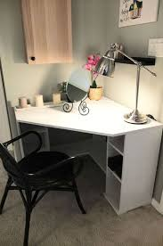 Micke Corner Desk Ikea Uk by Best 25 Corner Vanity Table Ideas On Pinterest Corner Vanity