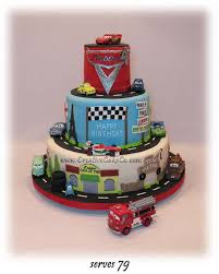disney cars themed birthday cakes