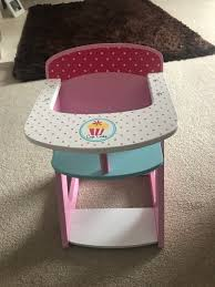 Baby Doll High Chair | In Lowestoft, Suffolk | Gumtree Solid Wood Baby Doll High Chair Olivias Little World Princess Baby Doll Fniture High Chair White Wooden 18 Inch Chiwanji Toddler Ding For 911 Reborn Toy Exquisite Plans Of 17672 Owl Theme Cradle And Highchair Set Delights And Girls Dolls Wardrobe Item Perfect For Ideas Rattan Vintage Miniature Wood Vertigo Toys Old Role Play Le Van Melissa Doug Accsories