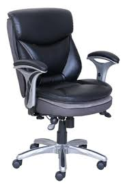 serta smart layers verona manager chair blacksilver by office