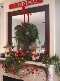 187 Best Christmas Mantels Images On Pinterest
