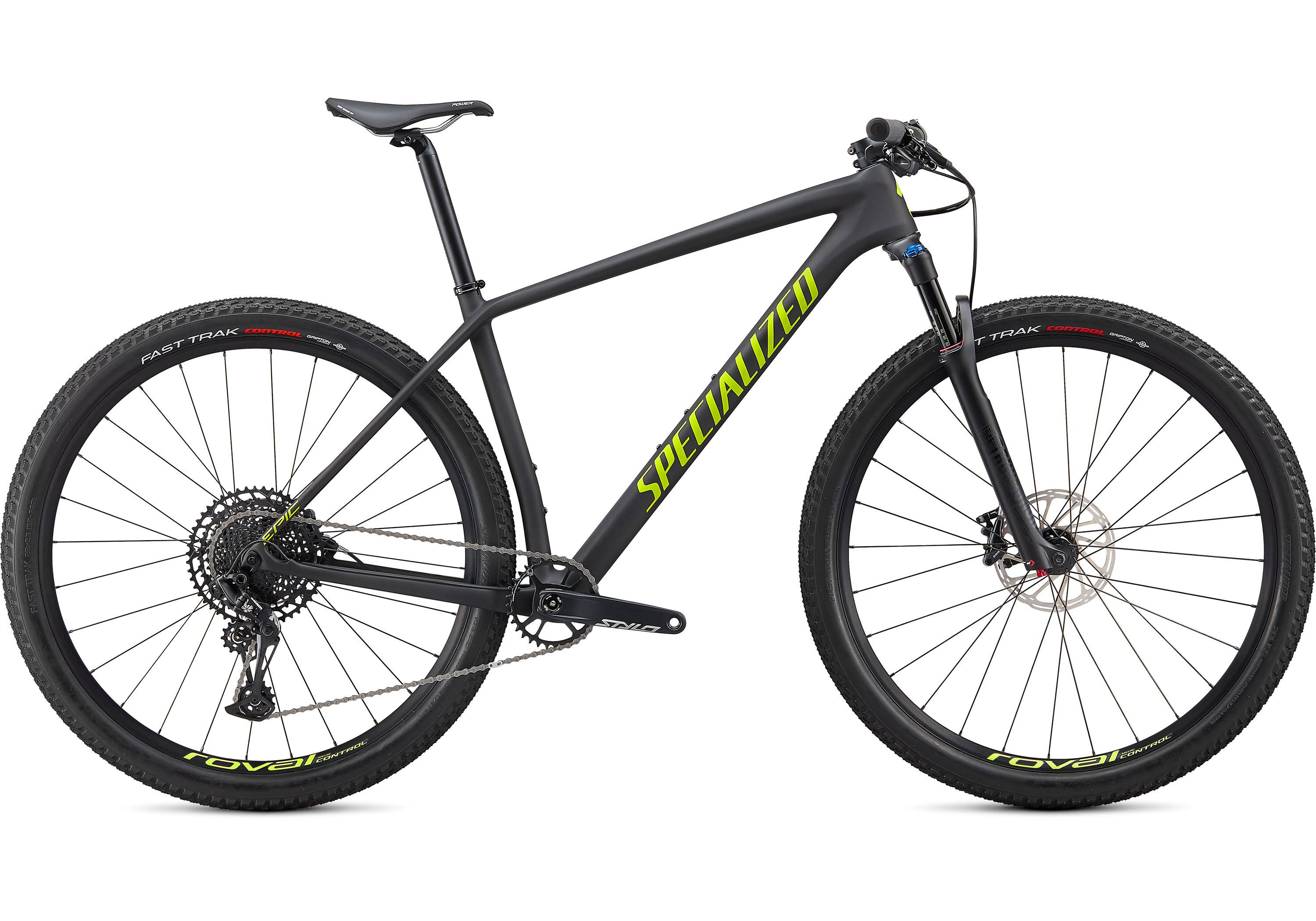 Specialized Epic Hardtail Comp Satin Carbon/Hyper Green / SM