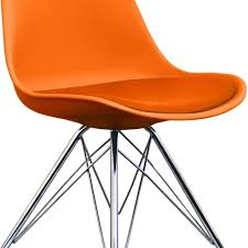 Buy Eiffel Inspired Orange Dining Chair With Chrome Metal Legs Saddle Leather Ding Chair Garza Marfa Jupiter White And Orange Plastic Modern Chairs Set Of 2 By Black Metal Cafe Fniture Buy Eiffel Inspired White Orange With Legs Grand Tuscany Total Sizes Wd325xh36 Patio Urban Kitchen Shop Asbury With Chromed Velvet Vivian Of World Market Industrial Design Slat Back Products Flash Indoor Outdoor Table 4 Stack