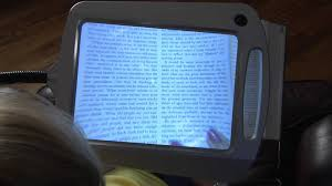 Lighted Magnifier Desk Lamp by Full Page Reading Magnifier Youtube