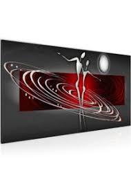 wandbilder abstrakt figuren modern vlies leinwand wohnzimmer