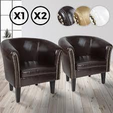 miadomodo chesterfield sessel aus holz und kunstleder mit kupfernieten braun 2er loungesessel clubsessel armsessel cocktailsessel