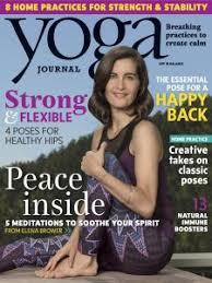 Yoga Journal Magazine October 2016 Edition