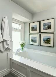 Paint Color For Bathroom With Almond Fixtures by The Best No Fail Benjamin Moore Gray Bathroom Colors Laurel Home
