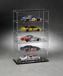 Tall Acrylic Display Case With Mirrored Back