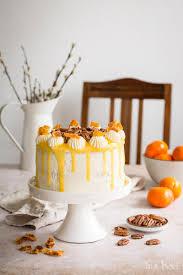 pekannuss torte mit orangenkompott und mascarponecreme
