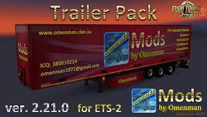 Big Trailer Pack By Omenman V.2.21.0 1.33.x » Download Simulator ...