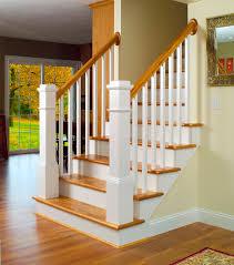 Stairway 13 features LJ 5060 Balusters LJ 4091 Box Newels LJ