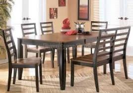 Alonzo Rectangular Dining Room Set D367 35 Dr By Ashley Elegant Of Cheap Dinette Sets