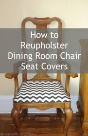 How To Reupholster Dining Room Chair Seat Covers Sitting A