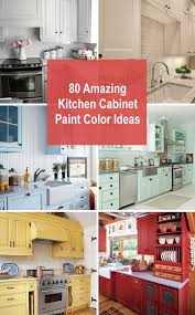 Color Ideas For Painting Kitchen Cabinets 80 Amazing Kitchen Cabinet Paint Color Ideas 2018