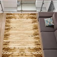details zu teppich klassisch mediterran wohnzimmer flur diele farbe beige braun 5 größen
