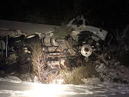 100 Truck Driving Schools In Maine Tractor Trailer Carrying Natural Gas Hits Plow Tips Over On