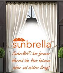 Sunbrella Curtains With Grommets by Buy Outdoor Drapes And Curtains Sunbrella Curtains And Drapes