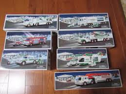 Hess Toy Trucks Lot Of 7 New In Original Boxes | #1848315470 Hess Toy Truck Through The Years Photos The Morning Call 2017 Is Here Trucks Newsday Get For Kids Of All Ages Megachristmas17 Review 2016 And Dragster Words On Word 911 Emergency Collection Jackies Store 2015 Fire Ladder Rescue Sale Nov 1 Evan Laurens Cool Blog 2113 Tractor 2013 103014 2014 Space Cruiser With Scout Poster Hobby Whosale Distributors New Imgur This Holiday Comes Loaded Stem Rriculum