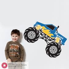 100 Monster Truck Wall Decals Decal Graphic Spaces