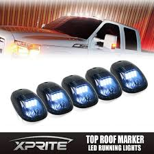 5 Smoked 12 LED Running Marker Lights Cab Roof Top SUV RV Truck ... Led Drl Daytime Running Light Fog Lamp Fits Ford Ranger T6 Px2 Mk2 Unique Bargains Truck Car White 6 Smd Driving 2009 2014 Board Lights F150ledscom Freeeasy Canyon Marker Mod Leds Chevy Colorado Gmc 7 Round 50w 30w H4 High Low Beam Led 10watt Xkglow 3 Mode Ultra Bright 14pcs Led Universal 2x45cm Auto Fxible Drl With Step Bar 1pcs Styling 12w Lights Dc 12v Archives Mr Kustom Accsories