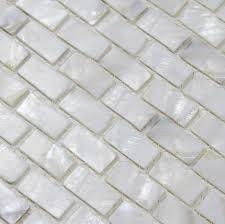 of pearl tile shower liner wall backsplash white bathroom
