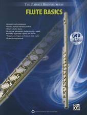 NEW Ultimate Beginner Flute Basics Book DVD The Series