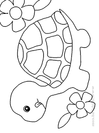 Childrens Coloring Pages Animals For Baby Free