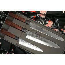 Kitchen Knive Set Kitchen Knife Set Seki Kanetsugu Heptagon Wood 3 Pcs 9107
