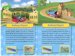 Thomas And Friends Tidmouth Sheds Trackmaster by Hit Trackmaster Pamphlets And Instructions