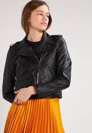 schott nyc leather jacket black women sale clothing jackets