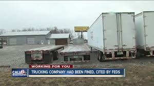 100 Indianapolis Trucking Companies Trucking Company Had Been Fined Cited By Feds Before