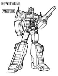 Splendid Design Ideas Optimus Prime Pictures To Color Transformers Coloring Pages Google Search