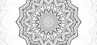 Alyssa Mandala Free Colouring Pages For Adults