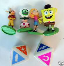 Spongebob Scene It Board Game 4 Movers 2 Dice Parts Only Pieces Plastic Figure