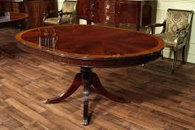104 dining room table with self storage leaves leaf pads hardware