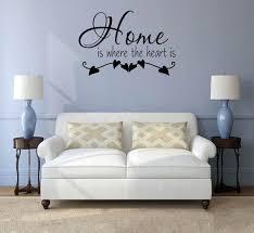 haus wand aufkleber wand aufkleber spruch wall decals wohnzimmer wandtattoo für schlafzimmer startseite ist wo das herz ist aufkleber vinyl
