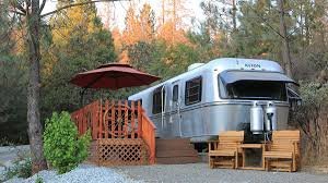 100 Restored Airstream Trailers Just Outside Of Yosemite Is A Trailer Park With The Vintage Trailers