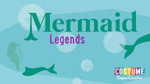Five Mermaid Legends Infographic