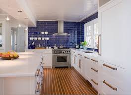 Inspired By The Boats In Harbor Outside Their Coastal Connecticut Home These Homeowners Went With Holly And Teak Flooring Reminiscent Of A Ship Deck