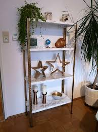 regal metall gold marmor antik retro wohnzimmer deko