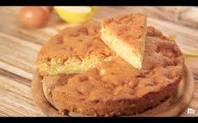 le délicieux gâteau aux pommes facile à faire et parfait pour le